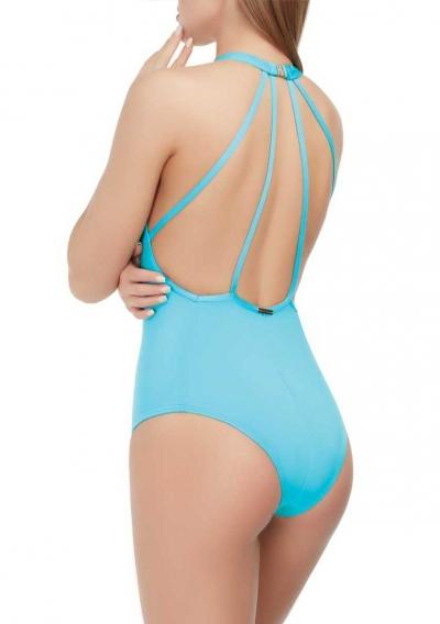 Слитный купальник Marc&Andre лазурного цвета